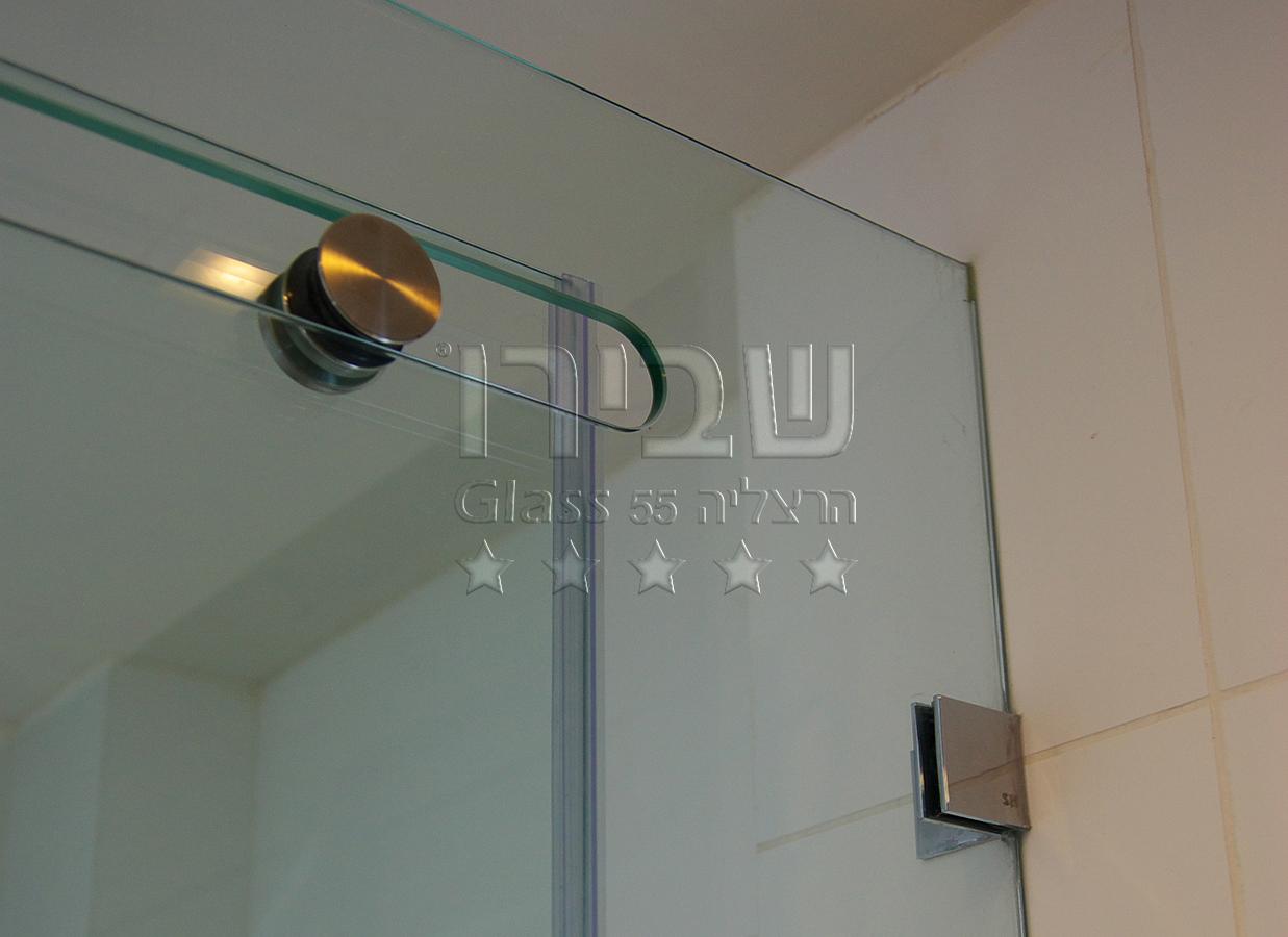 מקלחון הזזה CNC מזכוכית