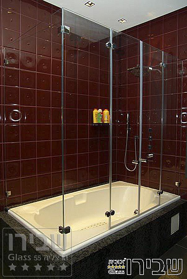 אמבטיונים מזכוכית שקופה 8 מ