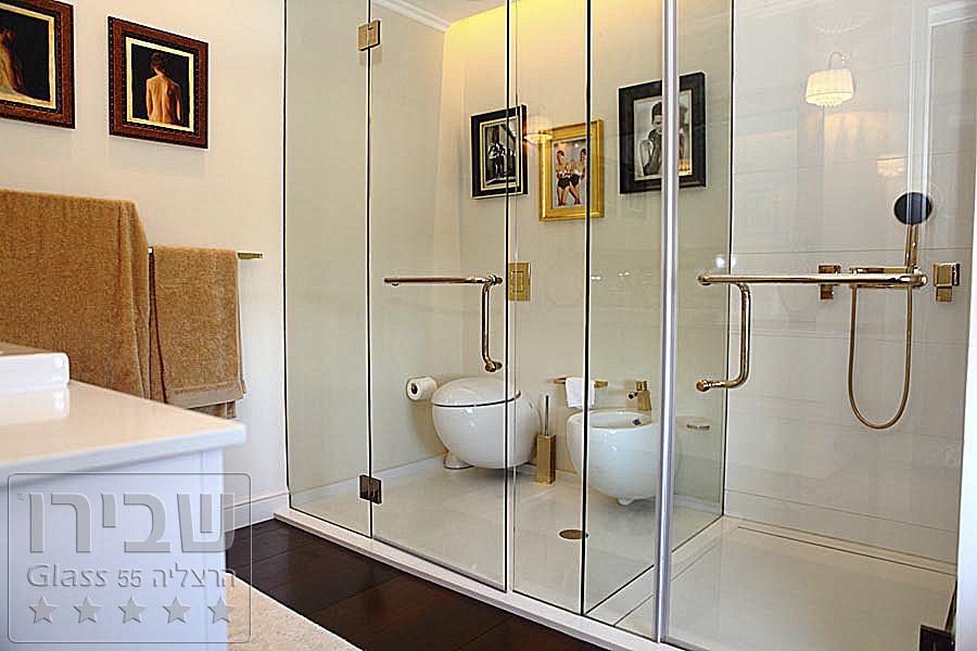 מקלחונים זכוכית