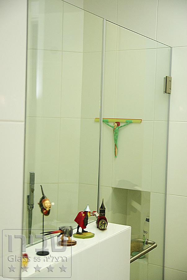 מקלחונים מעוצבים מזכוכית ייחודית