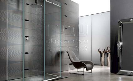 מקלחונים זכוכית / אמבטיונים